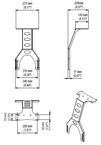 LC-CH3 - uchwyt na kamerę - Akcesoria do wózków