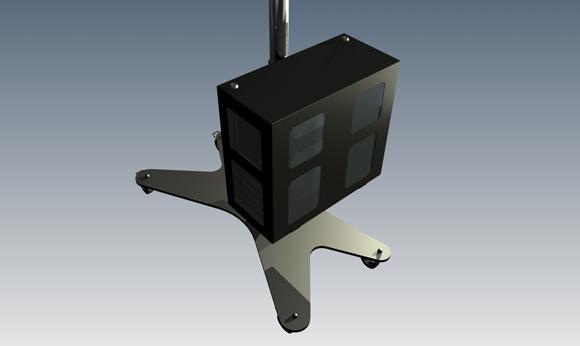 LC-TRAC300 - skrzynka na komputer (duża) - Akcesoria do wózków