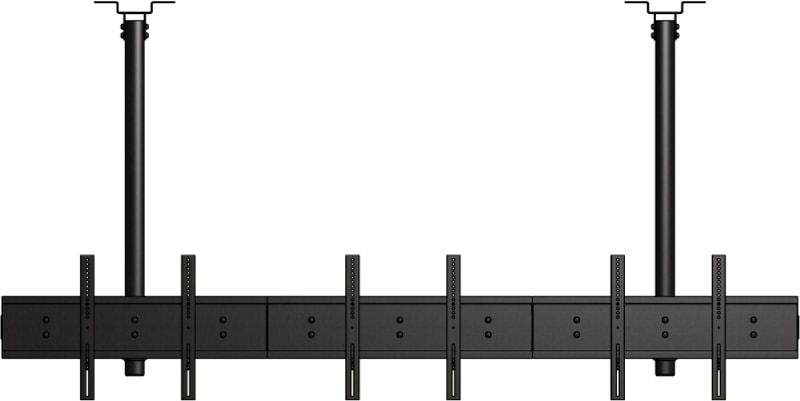 LC-US3155BB-L - Poziomy uchwyt sufitowych na 6 ekranów - Uchwyty do sufitu