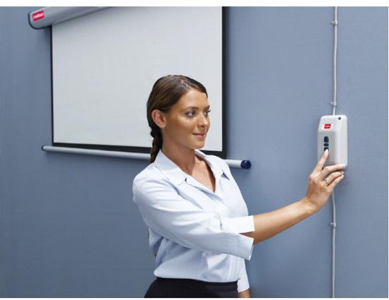 Ekran elektryczny NOBO - przekątna 200 cm - Ekrany elektryczne