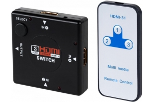 Switch HDMI z pilotem LC-1013P