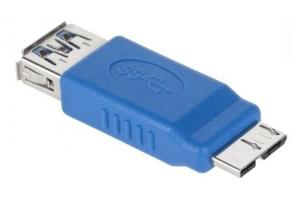 Przejściówka USB 3.0 gniazdo A - wtyk microUSB