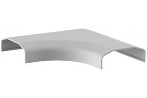 Listwa maskująca narożna biała 127x127x21,5 mm