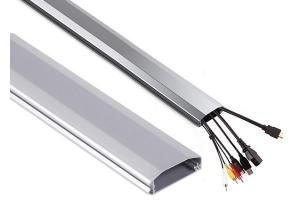 Listwa maskująca srebrna do kabli 60x20x750 mm
