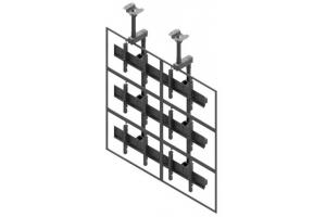 LCC2357-L - Uchwyt sufitowy w układzie 2x3 / 50