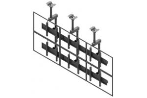LCC3247-L - Uchwyt sufitowy 3x2 do ściany wizyjnej 40