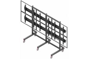 LCT3247-L - Uchwyt mobilny do videościany 3x2 / 40