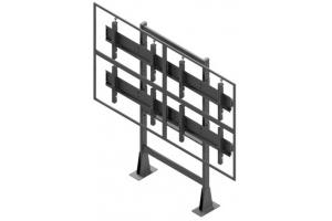 LCS2347-L - Uchwyt stacjonarny 2x3 do ściany wizyjnej 42