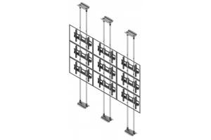 LCFC3347-L - Uchwyt sufit-podłoga w układzie 3x3 / 40
