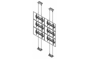 LCFC2347-L - Uchwyt sufit-podłoga 2x3 do ściany wizyjnej 40