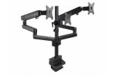 LC-3U-1727 - Uchwyt biurkowy dla 3 monitorów o przekątnej  17