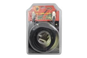 Kabel HDMI-HDMI 1.5m+filtr HQ blist