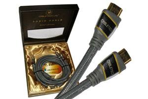 Kabel HDMI-HDMI Cabletech Gold Edition (bawełna)